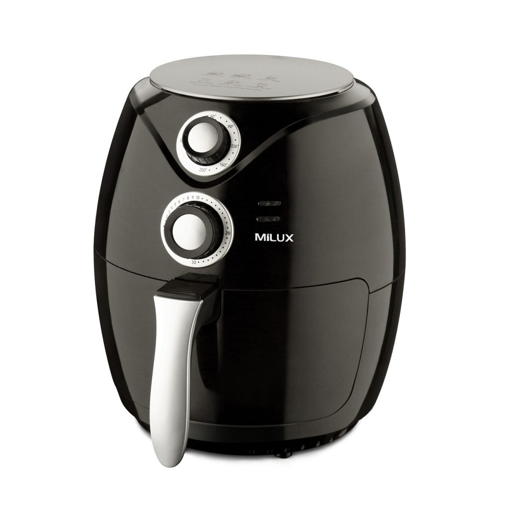 Easy Cleaning Air Fryer Malaysia by Milux. Get affordable kitchen appliances Malaysia.