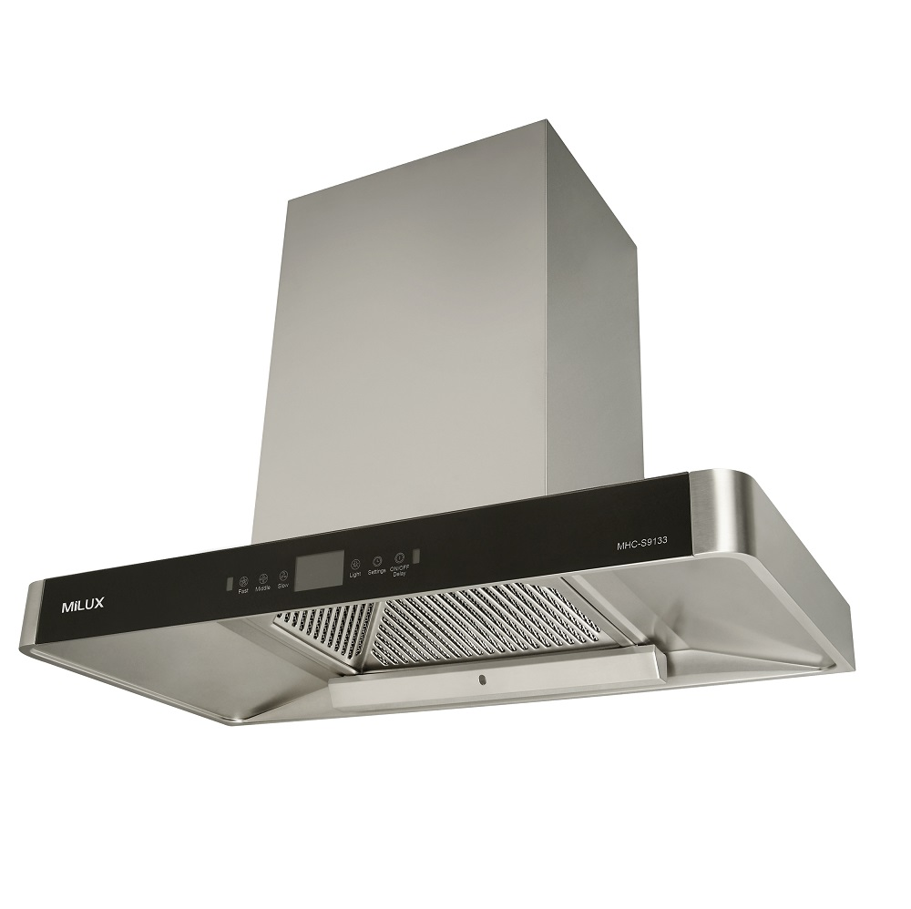 Best Cooker Hood Malaysia featuring the Milux MHC-S9133 cooker hood.