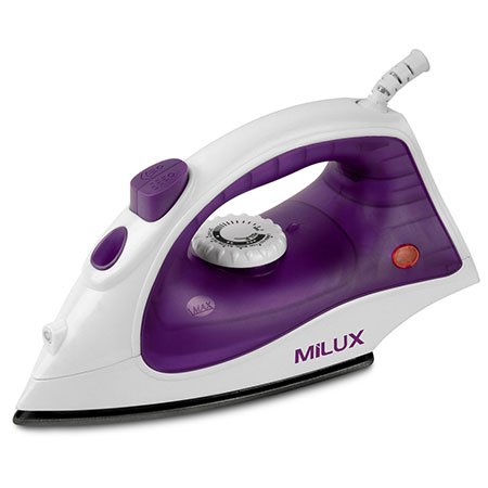 Buy clothing iron online Malaysia from Milux. Let Milux meet your home appliance needs!