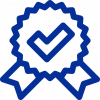 blue icon represents milux quality home appliances